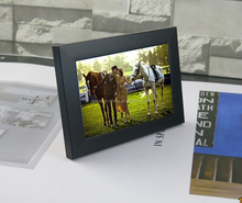 High Quality Black Plastic Photo Frame Contemporary 4x6 5x7 Photo Frames Wholesale Family Picture Frame