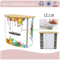 Outdoor decortive and advertising counter display