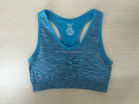 New fashion seamless bra ladies sport bra exporter bra top