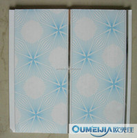 OUMEIJIA Latest printing design of PVCceiling panels for building materials