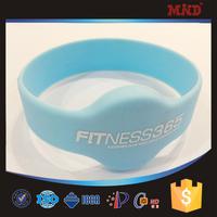 MDW310 RFID silicone Wristband/electronic identification Bracelet waterproof with EM4100, EM4102, EM4450, TK4100, T5567