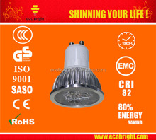 2015 Promotion lamp! Aluminum inside body GU10 spotlight 5/7W led spot light with CE and ROHS Approved