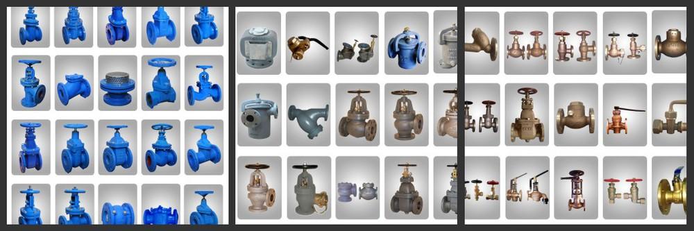 Yoko sun jis F7367 brass gate valve