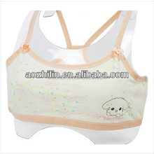 Young Girls Cozy Cotton Top with Lovey Printing