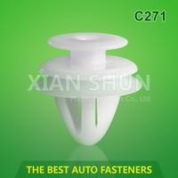 Plastic Clip Car Door / Nylon Snap Fasteners / Auto Fastener Plastic Clips For Mazda