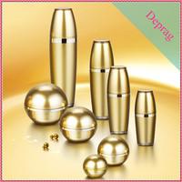 2015 new ball shape 24k gold 30ml 1.0fl oz 24k gold infused lifting& firming eye serum bottle