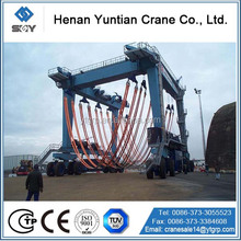 Rubber Tyre Yacht Crane For Sale
