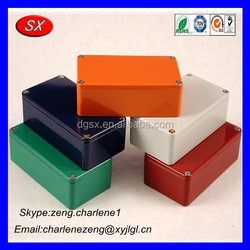 Chinese manufacturer cnc milling customized aluminum box 100*50*20mm