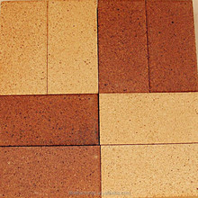 clay paving bricks, multiple colors pavers directly sold by factory