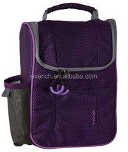 2015 wholesale top quality polyester insulated cooler tote bag for ladies