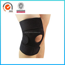 Black Velcro Thermal Neoprene Knee Support