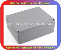 Plastic Molded ABS Casing / Injection Molded ABS Box Manufacturer / REACH Quality ABS Plastic Casing Box
