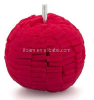 4 inch Red Car Wheel Polishing Foam Pad Car Polishing Balls