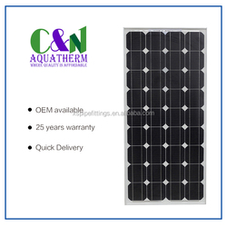 Chinese Photovoltaic Wholesale Best Prices for 150W 18V Panel Solar Panel for Home