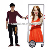 J2A-078 New media indoor&outdoor advertising inflatable display billboard with high bright LED light