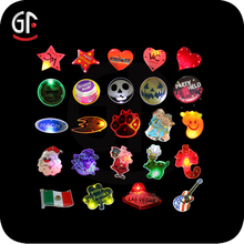 2015 New Items Arts And Craft Durable Star Led Flashing Badge