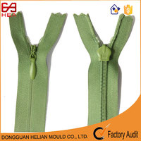 Cool summer hot sale Zipper for China apparel supplier No.3 invisible zipper for striped knit dress