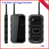 """5"""" IPS Screen Rugged Waterproof Cell Phone with PPT Walkie Talkie Hummer H6 Android Smart Phone"""