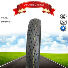 china motorcycle tire and tube 90/90-17 high quality