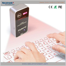 New arrival Infrared wireless Laser Virtual Keyboard Bluetooth USB connection for mobile phone with low price