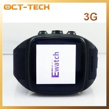 3G Android Watch phone with WIFI,New bluetooth GPS smartwatch phone dual core