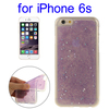 Hot selling tpu case for iPhone 6s with Star Sequins Flash Powder pattern