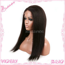 Hot new hair products 100 virgin remy hair indian women kinky straight human hair wig
