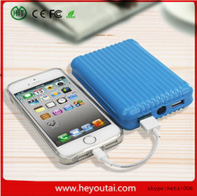 New arrivel!!! Mini trolley case colourful power bank mobile phone charger for iPad and tablet pc