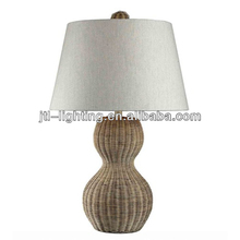 JTL-TL027 Creative Home Goods Table Lamp Rattan Wicker Table Lamp