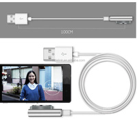 Hot Magnetic Charging Cable W/LED For Sony Xperia Z3 L55t Z2 Z1 Compact