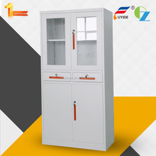 Luoyang manufacturer hot sale KD lockable 2 drawer metal storage cabinets,steel cupboard filing cabinet price lockable design