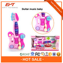 Top selling baby mini plastic toy guitar for sale