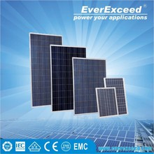 EverExceed 245w Polycrystalline Solar Panel with TUV/VDE/CE/IEC Certificates