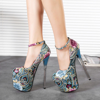 fancy girls fashion brand new design low price high heels shoes