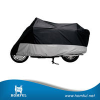 light weight UV-treated motorcycle cover double colour 190T polyester motocycle cover exercise bike covers
