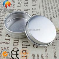 Aluminium Jar 25ml Aluminium Cosmetic Jar With Snap Lid
