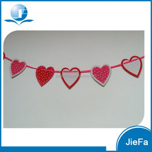 2015 New Product Cheap Heart Banner For Wedding Party Wedding Bunting