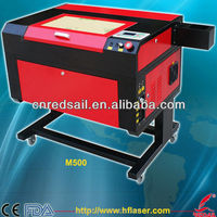 Mini laser engraver machine M500 for acrylic paper cloth rubber leather