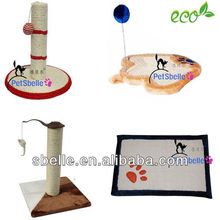 2015 small cat toy furniture of cat scratching tree