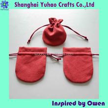 Travel watch pouch drawstring style watch bag velvet