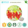 Natural Chinese Herb ISO 22000 schisandra extract 9%