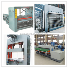 Complete plywood making machine / plywood production machine / production line