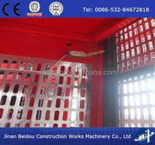 2 ton double cage passenger and material construction elevator