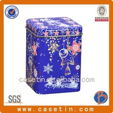 food grade wedding favors tins,promotion cookie tin box rectangle