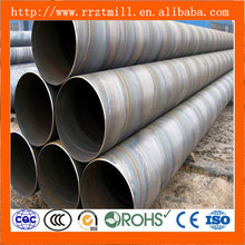 SSAW Carbon Pipe OD 500mm en10217 p265tr2 steel sheet pile made in China