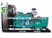 De alta calidad! 500kw de tipo abierto generador diesel con ats controlador