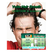 Hair growth supplements with 60ml*3 bottle Yuda spray of hair growth