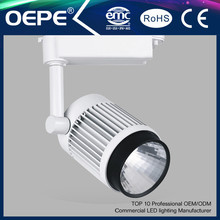 Hot Sell Commercial Cob 25/30W 3 Phases LED Track Light and Accessories