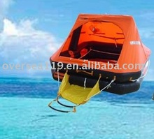 automatic inflatable life raft