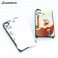 2d sublimation phone cover with metal sheet